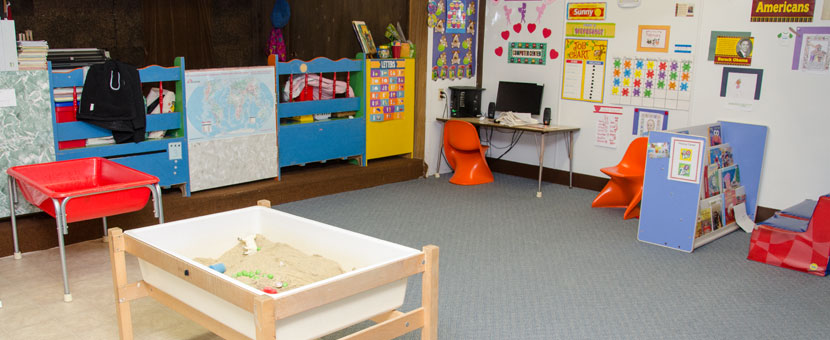 A clean, organized environment at Happy Day Child Care Center